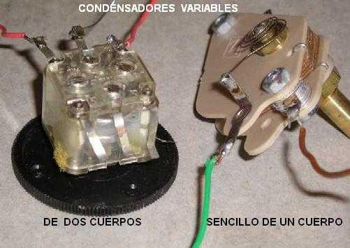Tipos de condensadores variables
