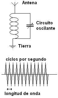 El circuito oscilante o de sintinia